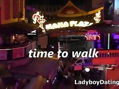 Bangkok nightlife sexy thai ladyboys of Nana Plaza