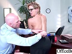 Superb Office Girl (Cherie Deville) With Big Boobs Enjoy Intercorse movie-27