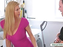 Big juggs milf Alexis Fawx fucked hard by her nasty stepson