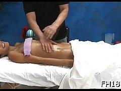 Free sex massage movie scene