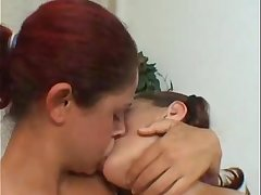 Julia &amp_ Mary Castro - Lesbian Makeout Session 2 #1