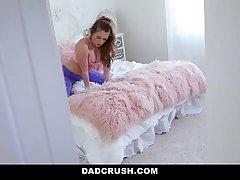 DadCrush - Watching My Big Ass Step-Daughter Masturbate