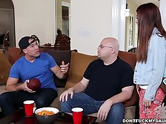 Teen Sally Squirt Gets Dicked Down by Daddy'_s Friend! (dfmd14980)