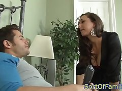 Bigtitted mother in law assfucked after oral
