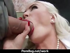 Office sex with busty women at work 30