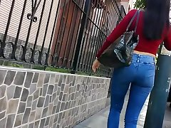 hunting #75 (Perfect ass in jeans) - cazando #75 (perfecto culo en jeans)