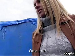 Public Pickup Czech Teen Amateur Fucked For Money Outdoor 30