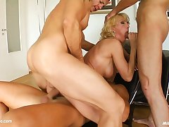 MILF THING brings you Silvya in milf hardcore gonzo scene