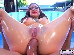 (Karmen Karma) Big Curvy Butt Girl Enjoy On Cam Deep Anal Sex video-18
