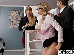 (Jessa Rhodes) Busty Sexy Office Girl Busy In Hard  Sex Act video-25