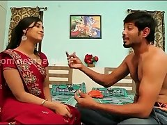 game of romance//indain beautiful housewife remove saree
