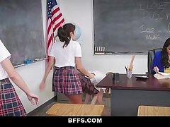 BFFS - Brazlian Teacher Fucked and Tortured By Students