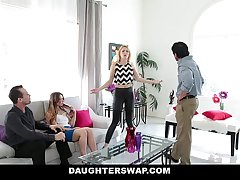 DaugherSwap - Hot Teens Fuck Dads During Mardis-Gras