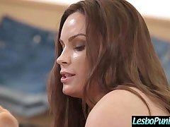 Sex Toys Punish Action Between Horny Lesbian Girls (Diamond Foxxx &amp_ Bobbi Dylan) vid-11