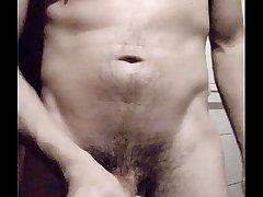 big cum before the bath