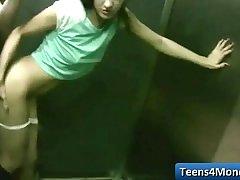 Teens Love Money fucked in open Public - www.Teens4Money.com video 05
